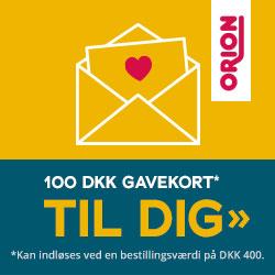 Reklame for Orion webshop for sexlegetøj
